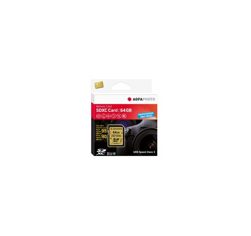 Home -TARJETA SD AGFA 64GB