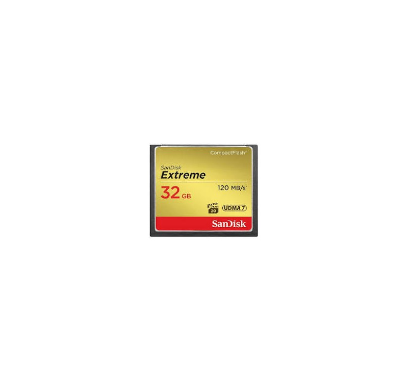 Home -TARJETA SANDISK CF 32GB