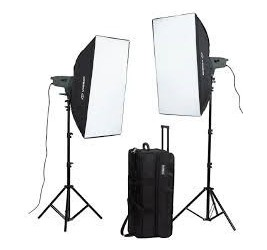 Visico -KIT VISICO VE 300 PLUS SOFTBOX