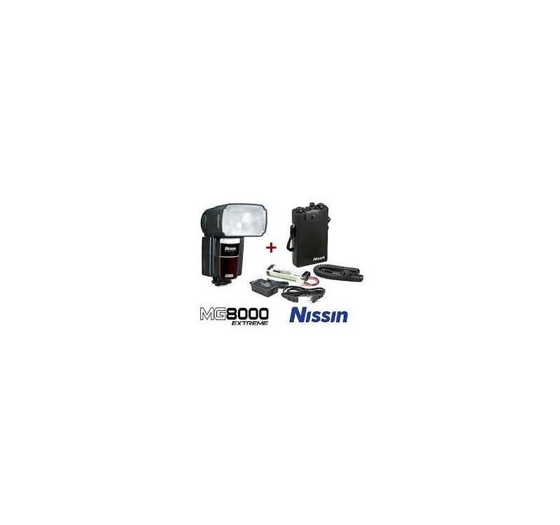 Nissin Digital -FLASH MG8000+PS8