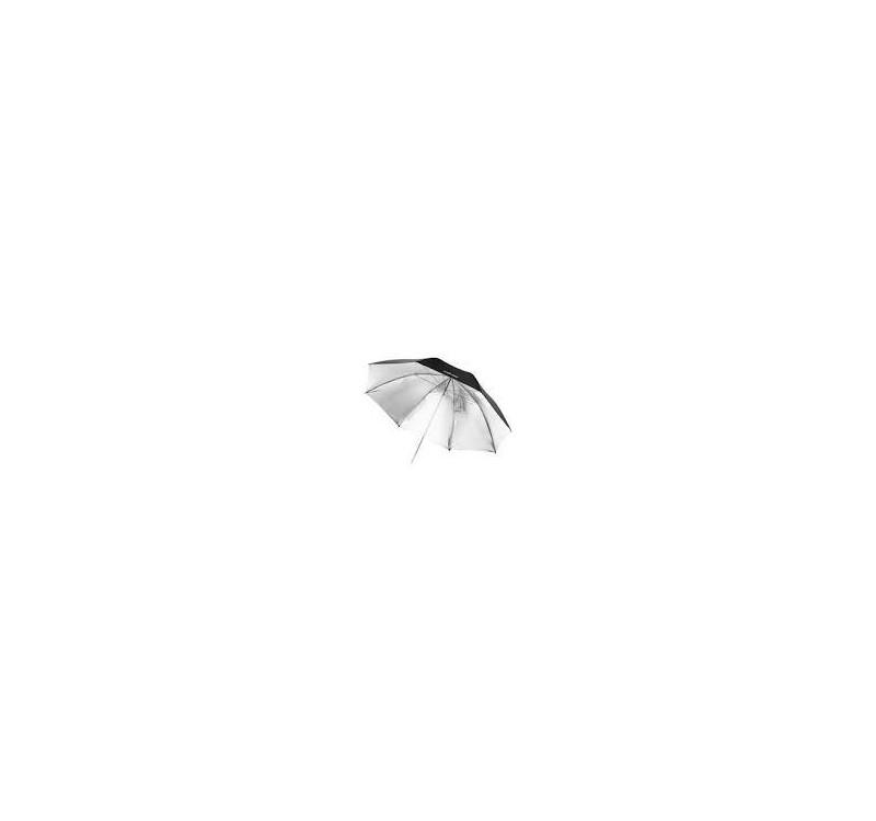Reflectores -PARAGUAS NEGRO/PLATA 100CM