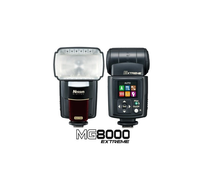 Nissin Digital -FLASH NISSIN MG8000 NIKON