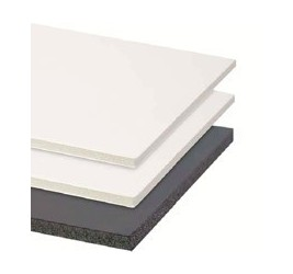 Foam y Textura -FOAM 102X152 BL 5MM ALUMINIO